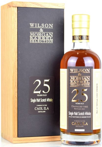 Caol Ila 25 Jahre 1995/2021 Sherry Cask Wilson & Morgan 59,5% vol.