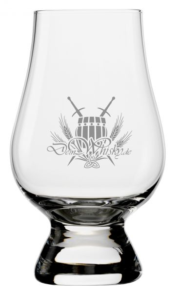 Glencairn Glas mit deinwhisky.de-Logo