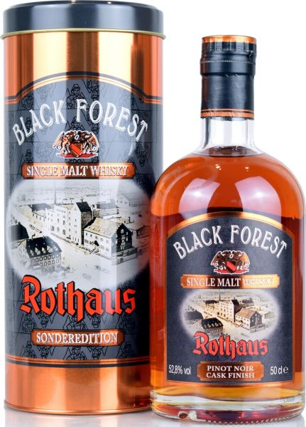 Black Forest Rothaus Pinot Noir Cask Finish 2020 52,8% vol.