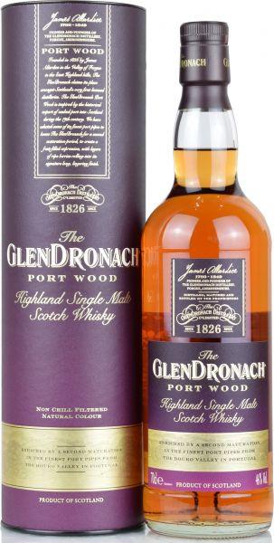 Glendronach Port Wood 46% vol.