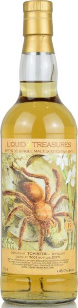 Tomintoul 19 Jahre 2001/2020 Liquid Treasures Living World 45% vol.