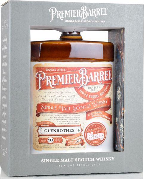 Glenrothes 10 Jahre Premier Barrel Douglas Laing 46% vol.