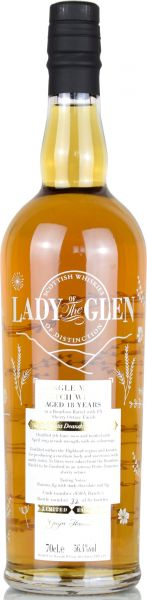 Deanston 18 Jahre 2000/2019 PX Sherry Octave Finish Lady of the Glen 56,4% vol.
