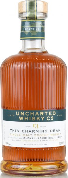 Glenallachie 13 Jahre 2007/2021 1st Fill Sherry Butt Uncharted Whisky 50% vol.
