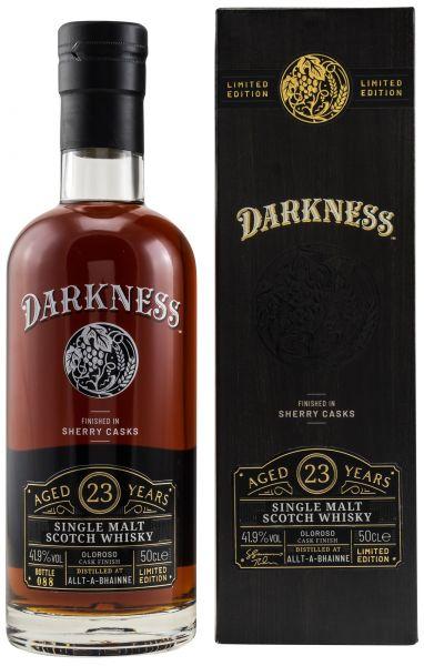 Allt-a-Bhainne 23 Jahre Oloroso Sherry Finish Darkness! 41,9% vol.