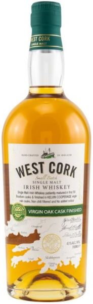 West Cork Virgin Oak Cask Finish 43% vol.