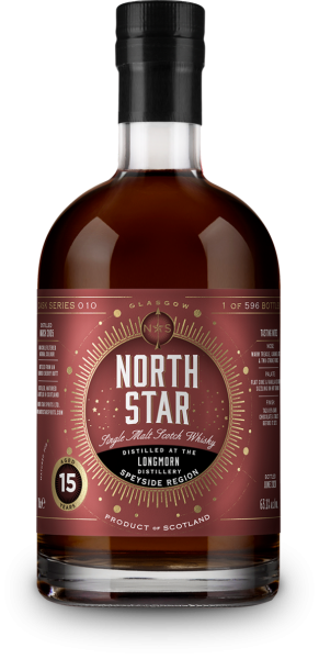 Longmorn 15 Jahre 2005/2020 Sherry Cask North Star Spirits #010 63,1% vol.