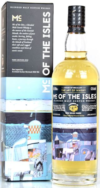 Mc of the Isles Rum Finish House of McCallum 43,5% vol.