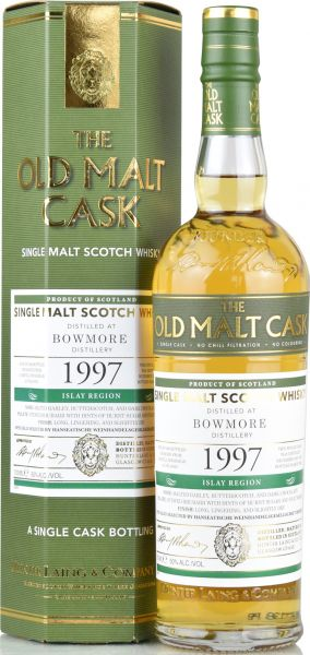 Bowmore 23 Jahre 1997/2021 Hunter Laing Old Malt Cask 50% vol.