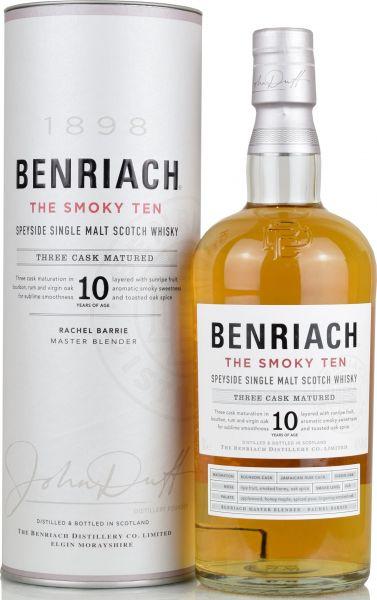 Benriach 10 Jahre The Smoky Ten Three Cask Matured