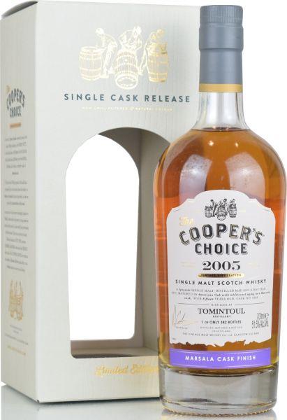 Tomintoul 15 Jahre 2005/2021 Marsala Cask Cooper's Choice 51,5% vol.