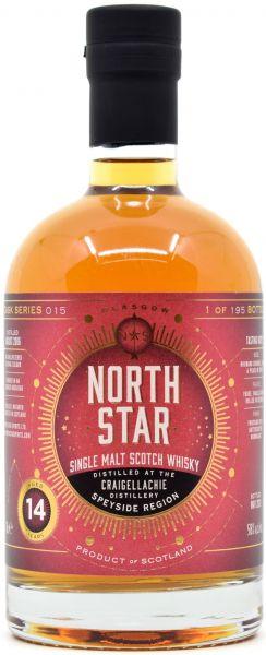 Craigellachie 14 Jahre 2007/2021 Oloroso Sherry North Star Spirits #015 58% vol.