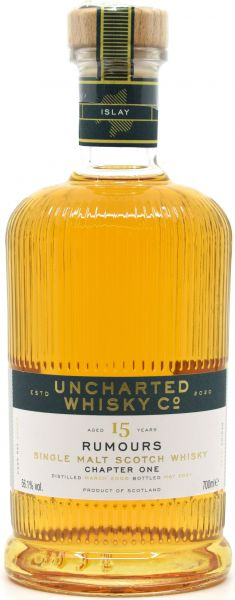 Secret Islay 15 Jahre 2006/2021 Rumours Chapter I Uncharted Whisky 56,1% vol.