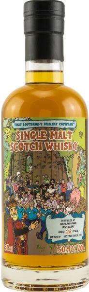 Highland Park 26 Jahre Batch #9 That Boutique-y Whisky Company 50,9% vol.