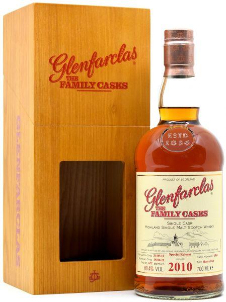 Glenfarclas 2010/2021 Family Casks Exclusive for Germany #1504 60,4% vol.
