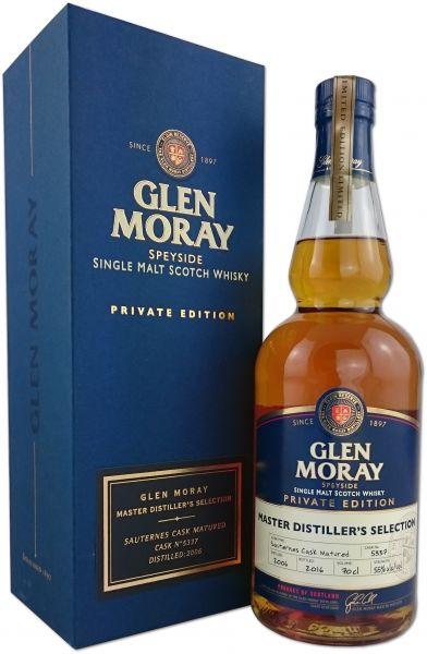 Glen Moray 2006/2016 Private Edition Sauternes Cask #5337