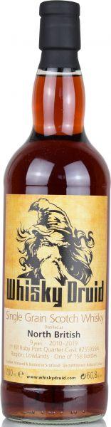 North British 9 Jahre 2010/2019 1st Fill Ruby Port Cask Whisky Druid 60,8% vol.