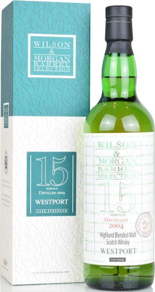 Westport 15 Jahre 2004/2019 Marsala Cask Wilson & Morgan 59,5% vol.