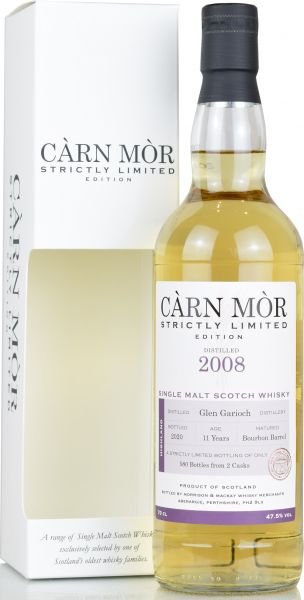 Glen Garioch 11 Jahre 2009/2020 Carn Mor Strictly Limited 47,5% vol.