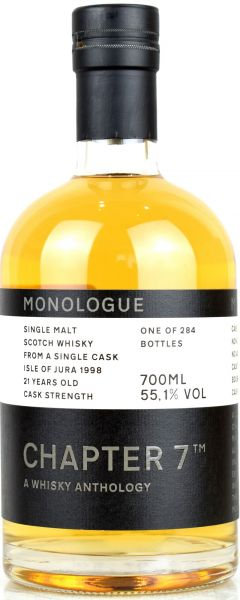 Jura 21 Jahre 1998/2020 Chapter 7 MONOLOGUE #1 55,1% vol.
