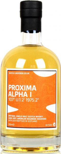 Proxima Alpha I 8 Jahre 2009/2017 Scotch Universe