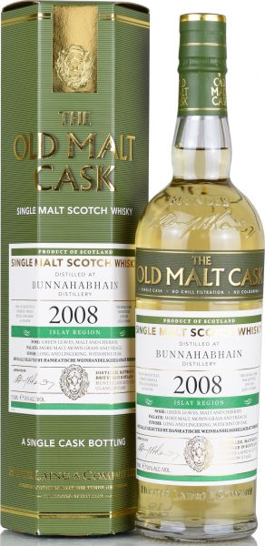 Bunnahabhain 10 Jahre 2008/2019 Hunter Laing Old Malt Cask 50% vol.