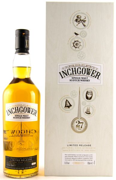 Inchgower 27 Jahre 1990/2018 Special Release 2018