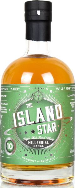 Island Star 10 Jahre 2008/2018 PX Sherry Finish North Star Spirits Millennial Range OR001