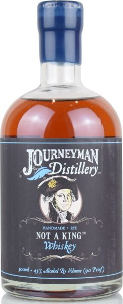 Journeyman Not A King Rye Whiskey 45% vol.
