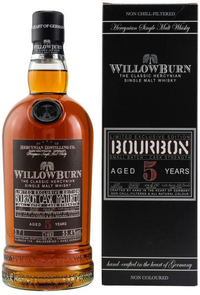 Willowburn 5 Jahre Limited Exclusive Edition Bourbon 55,4% vol.