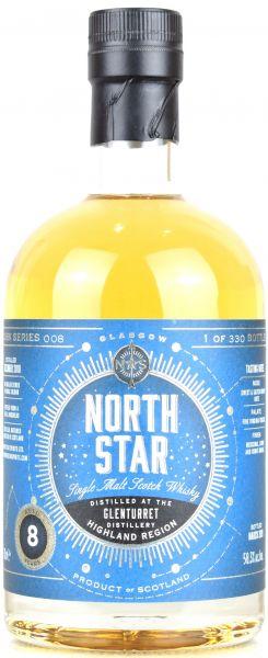 Glenturret 8 Jahre 2011/2019 North Star Spirits #008 58,3% vol.
