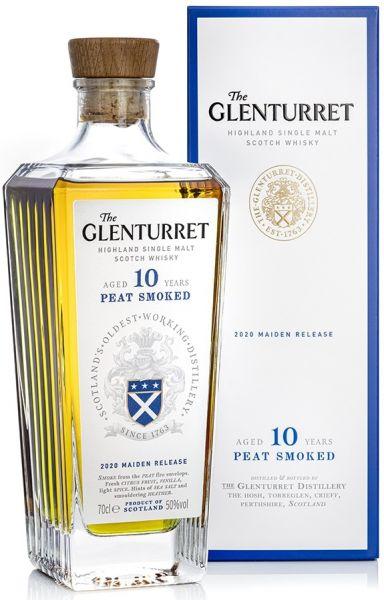 Glenturret 10 Jahre Peat Smoked 50% vol.