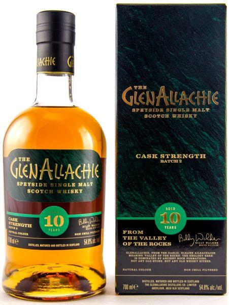 Glenallachie 10 Jahre Cask Strength Batch #2 54,8% vol.