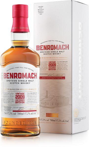 Benromach 2009/2020 Cask Strength Batch #4 57,2% vol.