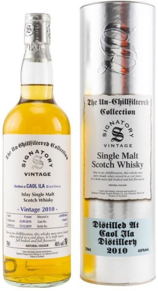 Caol Ila 9 Jahre 2010/2019 SV Un-Chillfiltered Collection #316639