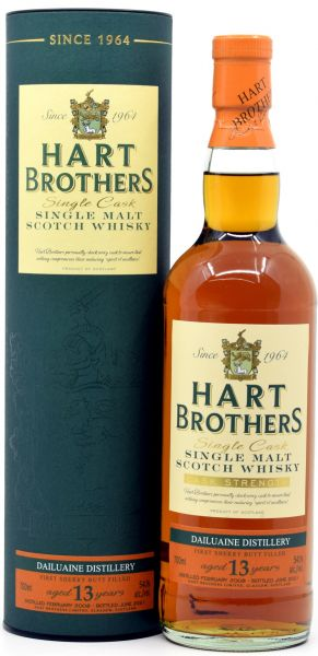 Dailuaine 13 Jahre 2008/2021 1st Fill Sherry Hart Brothers 54,1% vol.