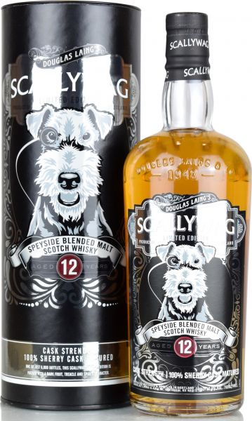 Scallywag 12 Jahre Cask Strength 53,6% vol.