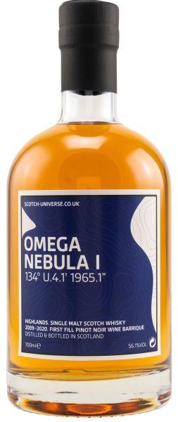 Omega Nebula I 2009/2020 1st Fill Pinot Noir Scotch Universe 56,1% vol.
