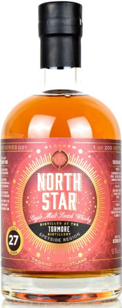 Tormore 27 Jahre 1988/2016 North Star Spirits #001 51,5% vol.