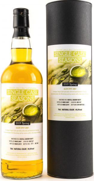 Glen Spey 12 Jahre 2007/2019 Sherry Butt Single Cask Seasons Spring 2019