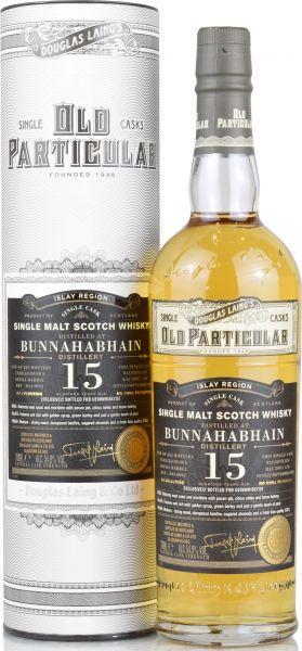 Bunnahabhain 15 Jahre 2005/2020 Old Particular Douglas Laing for deinwhisky.de 54,9% vol.