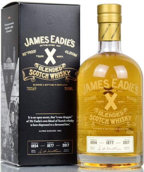 James Eadie's Trade Mark X