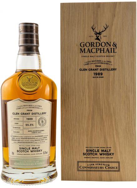Glen Grant 30 Jahre 1989/2019 Gordon & MacPhail 55,3% vol.