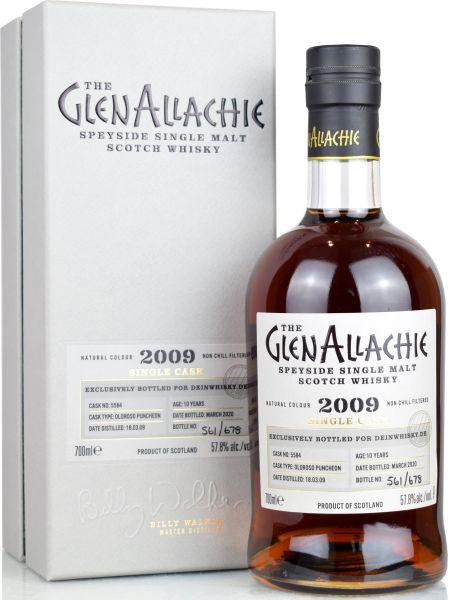 Glenallachie 2009/2020 Oloroso Sherry Single Cask for deinwhisky.de #5584 57,8% vol.