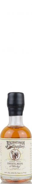 Journeyman Corsets, Whips & Whiskey Cask Strength 58,5% vol. Miniatur 0,05 l