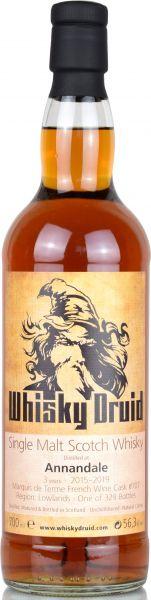 Annandale 3 Jahre 2015/2019 Marquis de Terme Wine Cask Whisky Druid 56,3% vol.