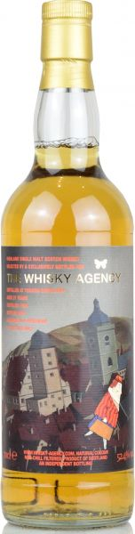 Tomatin 21 Jahre 1999/2020 The Whisky Agency 52,4% vol.