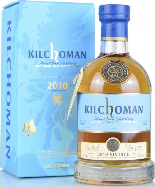 Kilchoman Vintage 2010 48% vol.