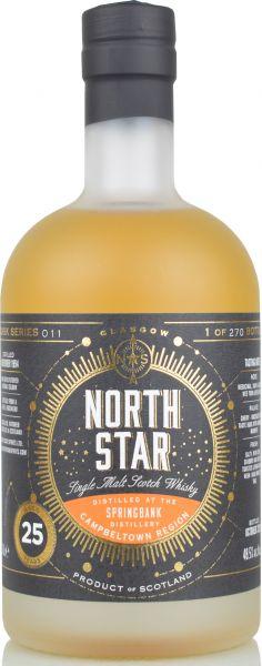 Springbank 25 Jahre 1994/2020 North Star Spirits #011 48,5% vol.