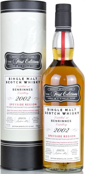 Benrinnes 16 Jahre 2002/2018 Sherry Cask First Editions 55,1% vol.